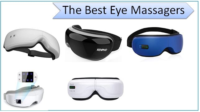 The Best Eye Massagers to Relieve Headaches, Dark Circles and Migraines on Amazon