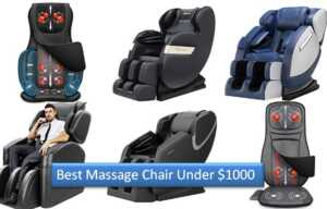 10 Affordable Best Massage Chair Under $1000 (Reviews 2021)
