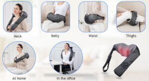 Comfier Shiatsu Neck & Back Massager Review (2021) : Everything You Need to Know