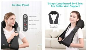 Naipo Shiatsu Back and Neck Massager Review (2021) : Everything You Need to Know